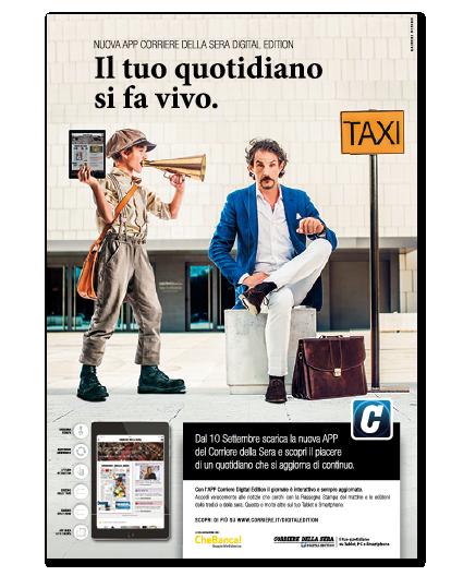 campagna di lancio corriere digital