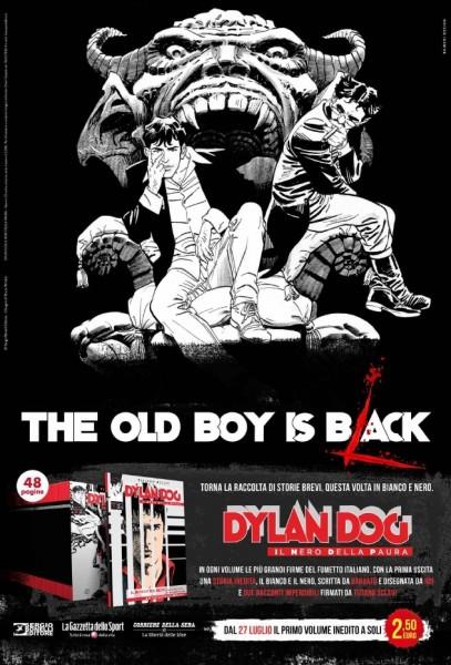 Campagna comunicazione Dylan DOg