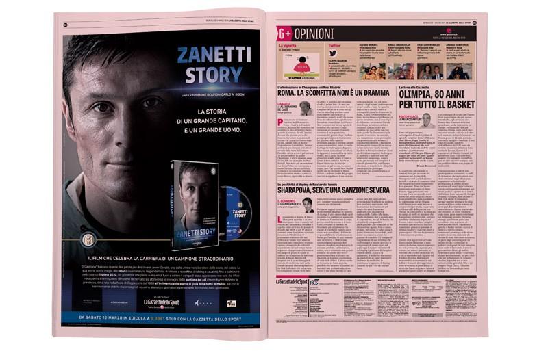 progetto grafico Zanetti Story