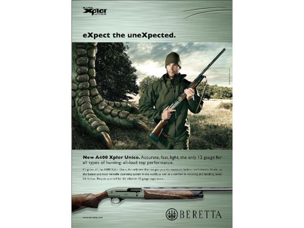campagna advertising Beretta