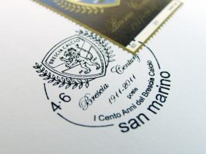 francobollo brescia calcio