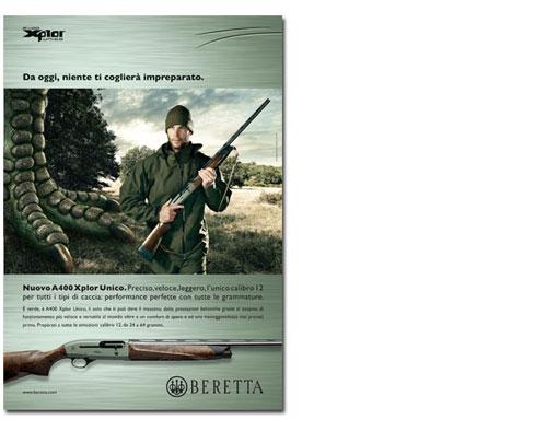 Campagna stampa Beretta