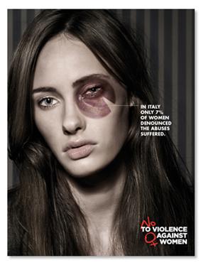 campagna a sostegno delle donne vittime