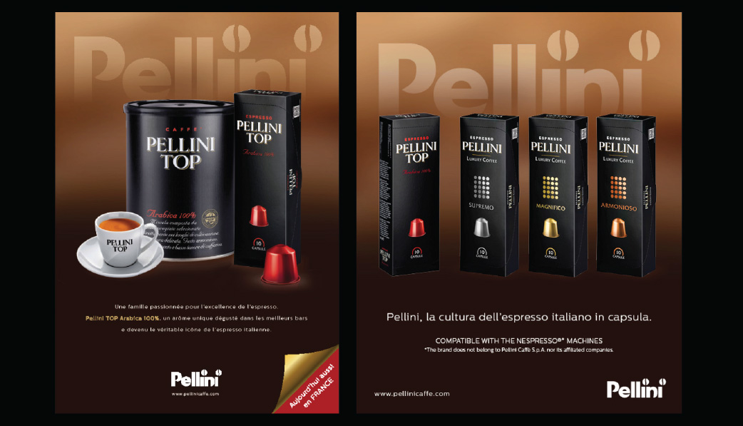 Below the line Pellini