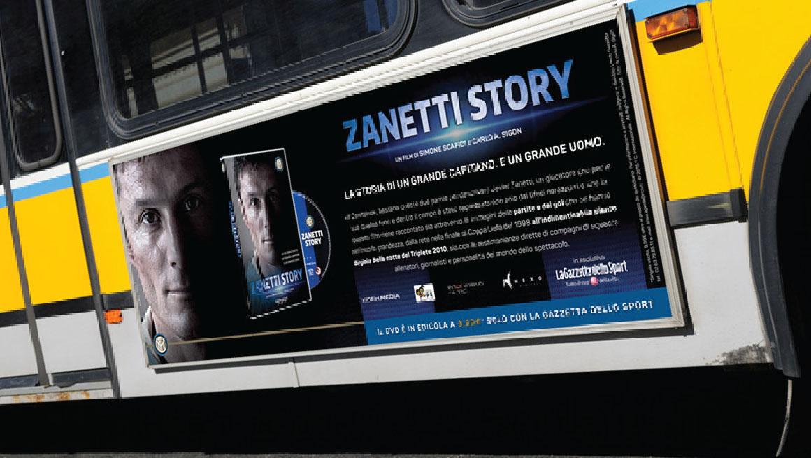 Gazzetta dello Sport Zanetti Story