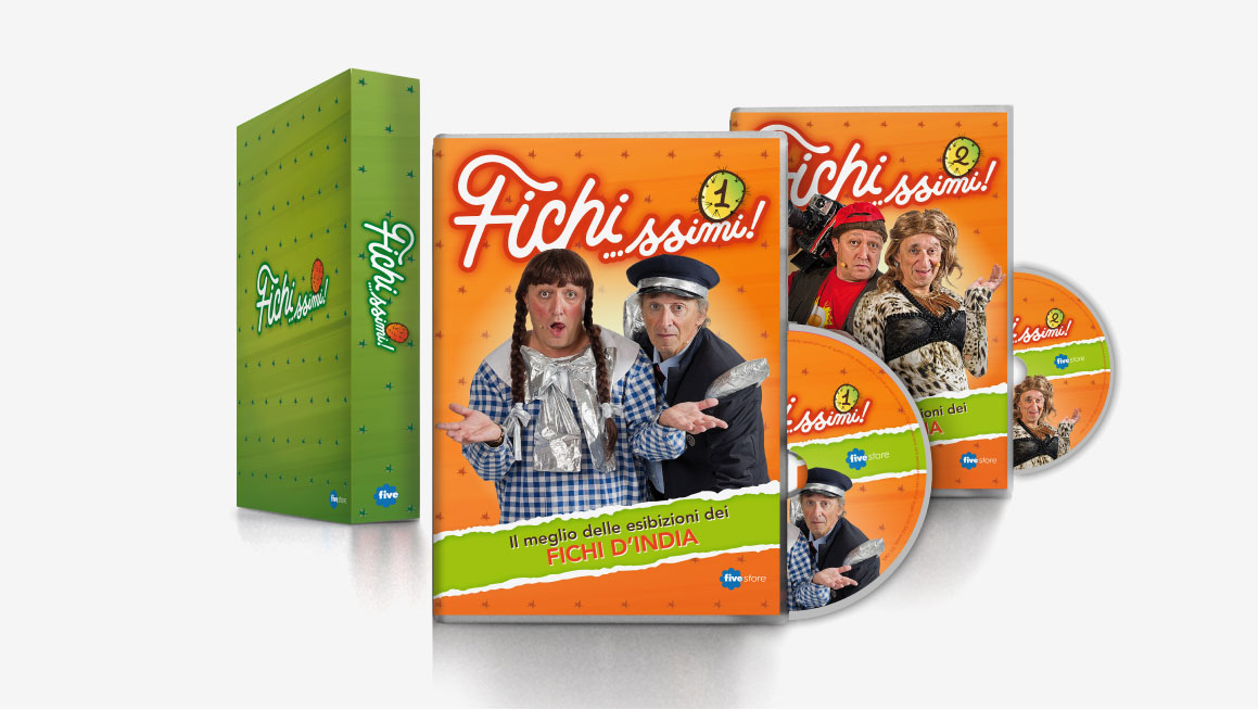 Fivestore DVD Cover e cofanetto