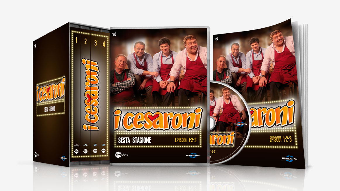Fivestore DVD Cover e cofanetto