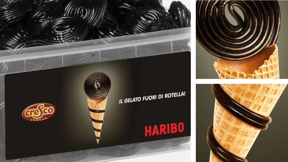 Haribo – Il gelato fuori di rotella