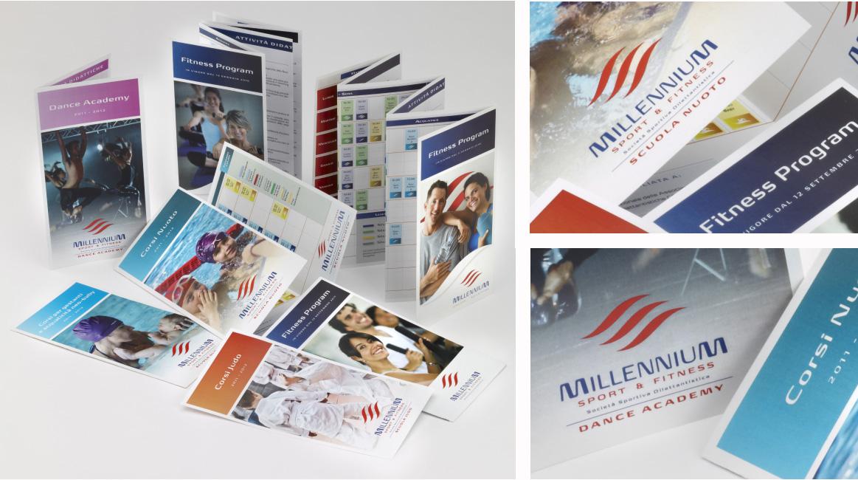 Campagna ADV per Millennium Sport Brescia